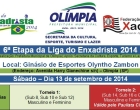 6ª Etapa da Liga será em Olímpia no dia 13 de setembro, sábado! Inscreva-se!