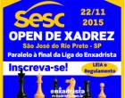 OPEN SESC DE XADREZ 2015