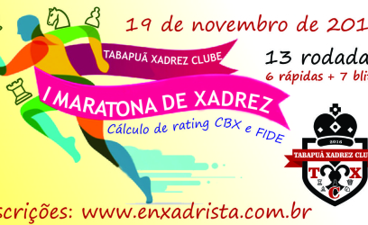 I Maratona de Xadrez do TXC! Participe!