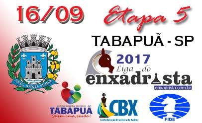 5ª Etapa será em Tabapuã dia 16 de setembro!
