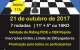 FESTIVAL DE XADREZ DO SESC BAURU - 21/10 - 6ª Etapa da Liga